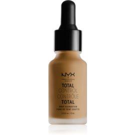 NYX Professional Makeup Total Control Drop Foundation tekoči puder odtenek 17 Cappuccino 13 ml