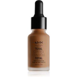 NYX Professional Makeup Total Control Drop Foundation tekoči puder odtenek 19 Mocha 13 ml