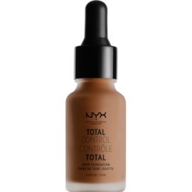 NYX Professional Makeup Total Control Drop Foundation tekoči puder odtenek 20 Deep Rich 13 ml