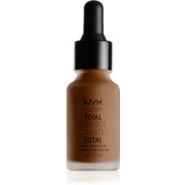 NYX Professional Makeup Total Control Drop Foundation tekoči puder odtenek 23 Chestnut 13 ml