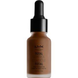 NYX Professional Makeup Total Control Drop Foundation tekoči puder odtenek 24 Deep Espresso 13 ml