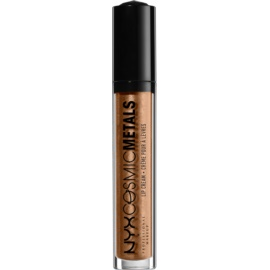 NYX Professional Makeup Cosmic Metals™ metaliczna szminka w płynie odcień 13 Celestial 4 ml