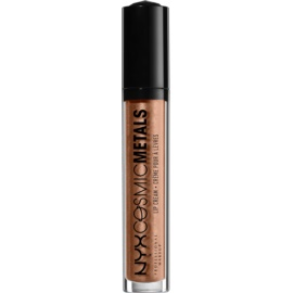 NYX Professional Makeup Cosmic Metals™ kovinska tekoča šminka  odtenek 15 Retro Harmony 4 ml