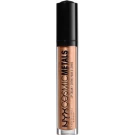 NYX Professional Makeup Cosmic Metals™ kovinska tekoča šminka  odtenek 17 Metropolitan Night 4 ml