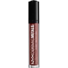 NYX Professional Makeup Cosmic Metals™ metalická tekutá rtěnka odstín 18 Elite 4 ml