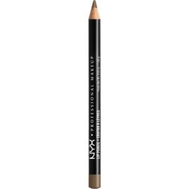 NYX Professional Makeup Slim Lip Pencil tužka na rty odstín 818 Dark Brown 1 g