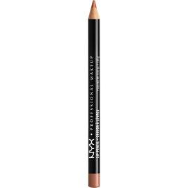 NYX Professional Makeup Slim Lip Pencil tužka na rty odstín Soft Brown 1 g