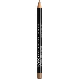 NYX Professional Makeup Slim Lip Pencil tužka na rty odstín 821 Brown Cafe 1 g