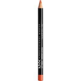 NYX Professional Makeup Slim Lip Pencil tužka na rty odstín Orange 1 g