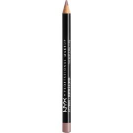 NYX Professional Makeup Slim Lip Pencil tužka na rty odstín Never 1 g