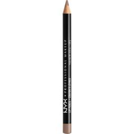NYX Professional Makeup Slim Lip Pencil tužka na rty odstín 829 Hot Cocoa 1 g