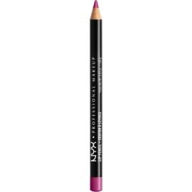 NYX Professional Makeup Slim Lip Pencil tužka na rty odstín Purple Rain 1 g