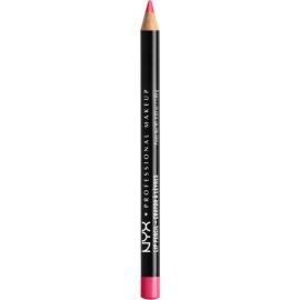NYX Professional Makeup Slim Lip Pencil tužka na rty odstín Hot Pink 1 g