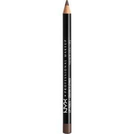 NYX Professional Makeup Slim Lip Pencil tužka na rty odstín 853 Brown Black 1 g