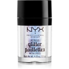 NYX Professional Makeup Glitter Goals metalične bleščice za obraz in telo odtenek 05 Lumi-lite 2,5 g