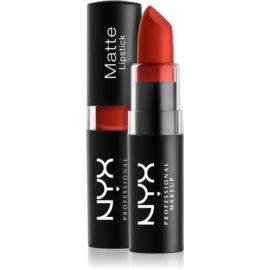 NYX Professional Makeup Matte Lipstick klassischer matter Lippenstift Farbton 07 Alabama 4,5 g