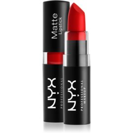 NYX Professional Makeup Matte Lipstick klassischer matter Lippenstift Farbton 10 Perfect Red 4,5 g