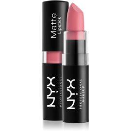 NYX Professional Makeup Matte Lipstick klassischer matter Lippenstift Farbton 15 Whipped Caviar 4,5 g