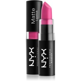 NYX Professional Makeup Matte Lipstick klassischer matter Lippenstift Farbton 17 Sweet Pink 4,5 g