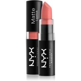 NYX Professional Makeup Matte Lipstick klasična mat šminka odtenek 22 Strawberry Daiquiri 4,5 g