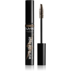NYX Professional Makeup Worth The Hype maskara odtenek 02 Brownish Black 7 ml
