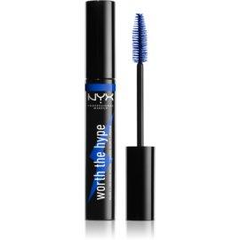 NYX Professional Makeup Worth The Hype maskara odtenek 03 Blue 7 ml