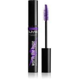 NYX Professional Makeup Worth The Hype maskara odtenek 04 Purple 7 ml