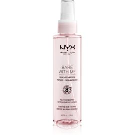 NYX Professional Makeup Bare With Me Prime-Set-Refresh Multitasking Spray Lichte Multifunctionele Spray   130 ml