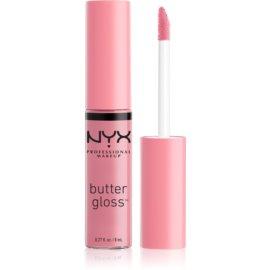 NYX Professional Makeup Butter Gloss sijaj za ustnice odtenek 02 Éclair 8 ml