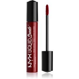 NYX Professional Makeup Liquid Suede™ Cream tekoča vodoodporna šminka z mat učinkom odtenek 03 Cherry Skies 4 ml