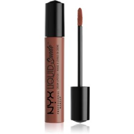 NYX Professional Makeup Liquid Suede™ Cream tekoča vodoodporna šminka z mat učinkom odtenek 07 Sandstorm 4 ml