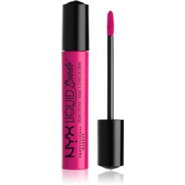 NYX Professional Makeup Liquid Suede™ Cream tekoča vodoodporna šminka z mat učinkom odtenek 08 Pink Lust 4 ml