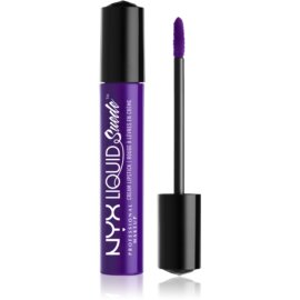 NYX Professional Makeup Liquid Suede™ Cream tekoča vodoodporna šminka z mat učinkom odtenek 10 Amethyst 4 ml