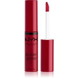 NYX Professional Makeup Butter Gloss sijaj za ustnice odtenek 24 Cranberry Biscotti 8 ml