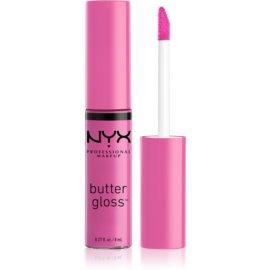 NYX Professional Makeup Butter Gloss sijaj za ustnice odtenek 31 Cotton Candy 8 ml