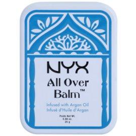 NYX Professional Makeup All Over tělový balzám Argan Oil 25 g