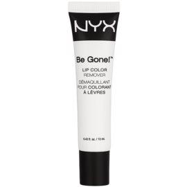 NYX Professional Makeup Be Gone! bãlsamo labial e removedor de maquilhagem 2 em 1  13 ml