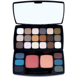 NYX Professional Makeup Bohéme Chic Lidschatten & Kontourpalette  36,4 g