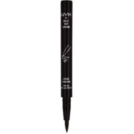 NYX Professional Makeup Felt Tip Liner delineador de ojos tono 02 Dark Brown 0,6 g