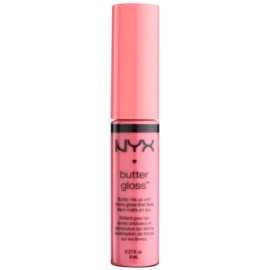 NYX Professional Makeup Butter Gloss lesk na rty odstín 11 Maple Blondie 8 ml