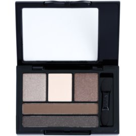 NYX Professional Makeup Love in Florence paleta očních stínů s aplikátorem odstín 01 Meet My Romeo 2,4 g