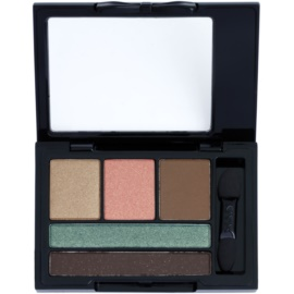 NYX Professional Makeup Love in Florence paleta očních stínů s aplikátorem odstín 02 Eat, Love, Be Fab 2,4 g