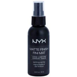 NYX Professional Makeup Matte Finish fixační sprej s matným efektem  60 ml