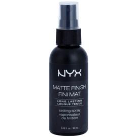 NYX Professional Makeup Matte Finish spray fijador con efecto mate  60 ml