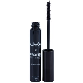 NYX Professional Makeup Propel My Eyes řasenka pro objem a zahuštění řas odstín 01 Jet Black 8 g