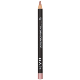 NYX Professional Makeup Slim Lip Pencil tužka na rty odstín Beige 1 g