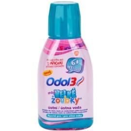 Odol 3  My Big Teeth enjuague bucal para niños   300 ml