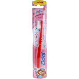 Odol Perlička escova de dentes para crianças soft