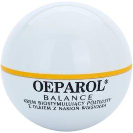 Oeparol Balance biostimulačný pleťový krém pre normálnu a suchú pleť  50 ml
