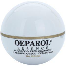 Oeparol Essence denní výživný krém s omega kyselinami a ceramidy pro suchou až velmi suchou pleť  50 ml